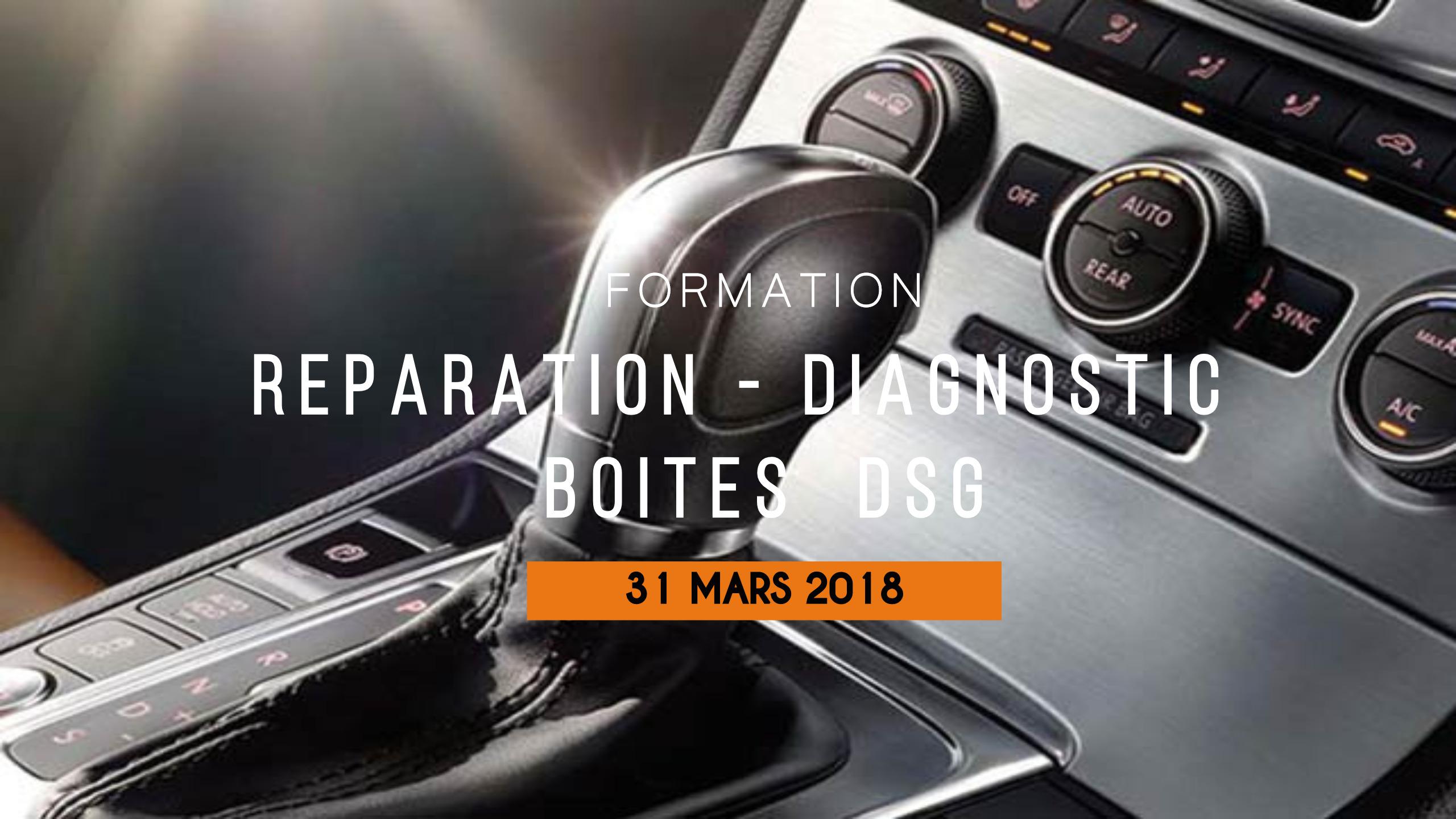 Formation Boîte de vitesses DSG