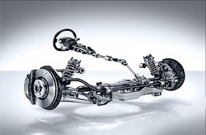 Direction électronique et suspension automobile